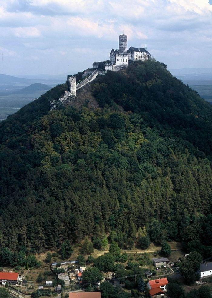 Bezdez Castle, Czech Republic #Castle