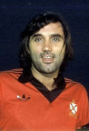 George Best Fulham 1977