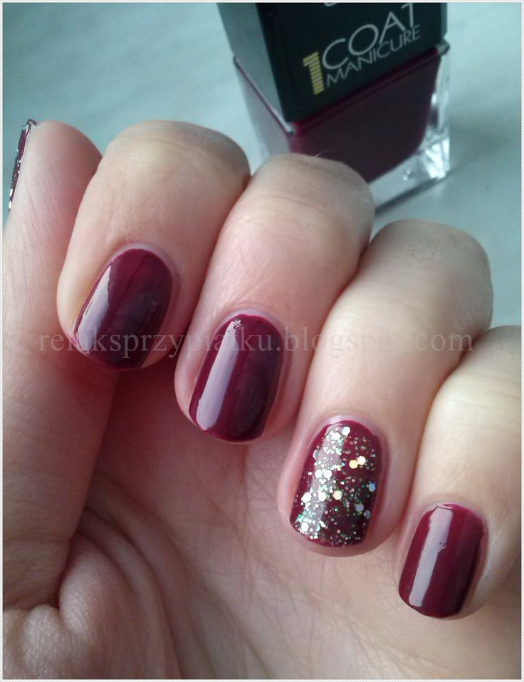 Wibo 1 Coat Manicure nr 13 + Trend Extreme Nails nr 1