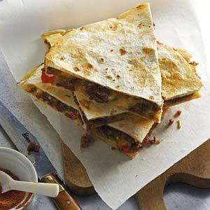 Recept - Quesadilla met gehakt - Allerhande
