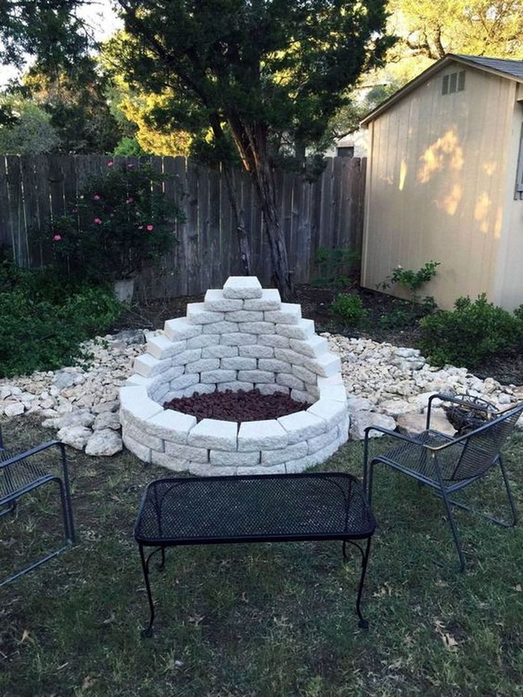 Nice 35 Easy DIY Fire Pit Ideas for Backyard Landscaping