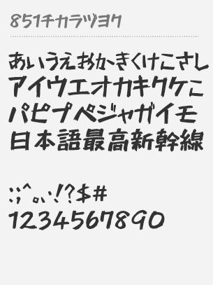 851 Chikara Dzuyoku