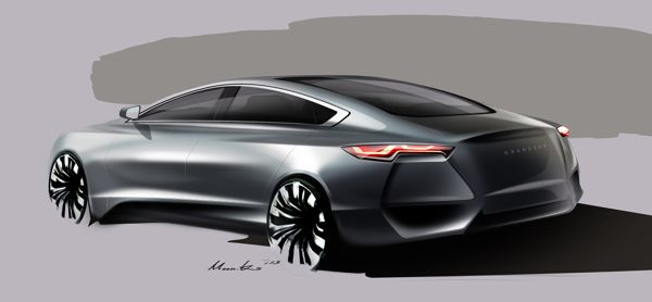 Hyundai Sedan Project_2013 on Behance