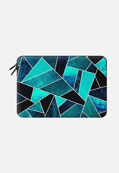Wild Ocean Macbook Pro 13 sleeve by Elisabeth Fredriksson | Casetify