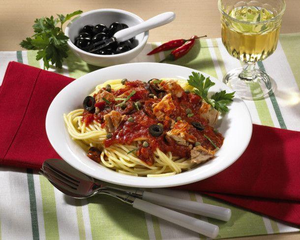 Unser beliebtes Rezept für Spaghetti mit Thunfischsoße und mehr als 55.000 weitere kostenlose Rezepte auf LECKER.de.