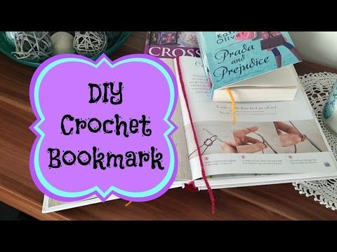 How To Make A Triangular Bookmark Crochet - DIY Crafts Tutorial - Guidecentral - YouTube