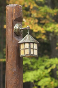 Rustic Path Lighting...Love These!