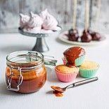 Сливочная карамель и ванильные кексы