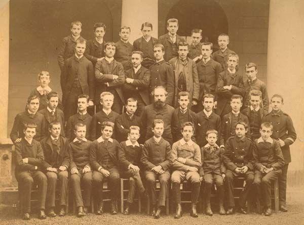 Lycée Condorcet, año escolar 1886-87.