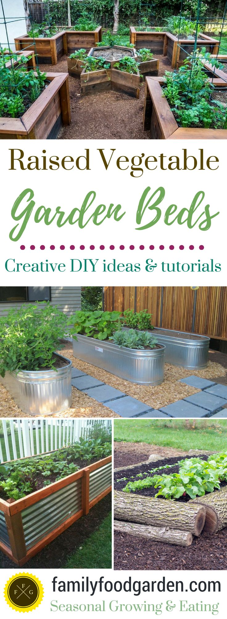 Awesome Raised Garden Bed Ideas U0026 Tutorials   Family Food Garden