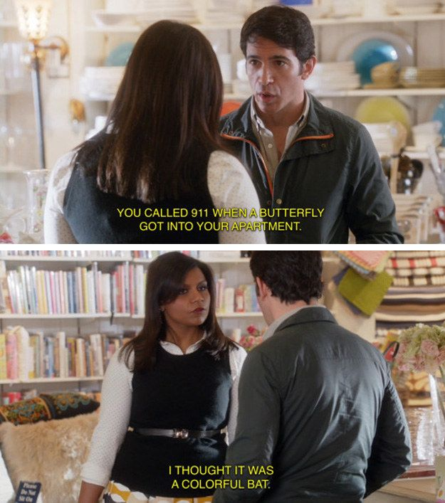 When she had a flair for the dramatic. | 21 Times Mindy Lahiri Made You Wish You Were Best Friends