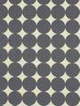 S1 Ground Level Drapery Fabric - Robert Allen, Dotscape, Charcoal.  #Uptownes Design: Jo-Ann Capelaci  Builder: Geranium Homes