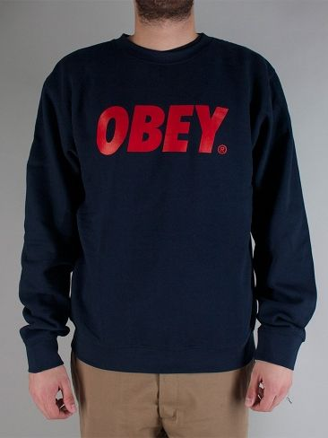 OBEY 224130259 OBEY FONT CREWNECK Felpa Girocollo - navy € 65,00 - See more at: http://www.moveshop.it/ecommerce/index.php/LINGUA/articolo/56320/7900/224130259 OBEY FONT CREWNECK#sthash.DJ1yRAQI.dpuf