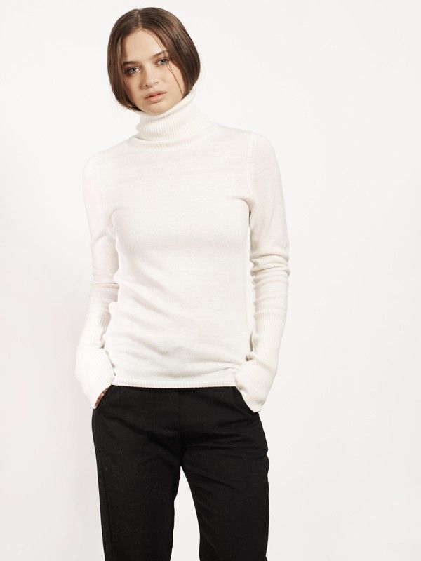 150.00 $CAN ARIA-White - Sweaters - Apparel