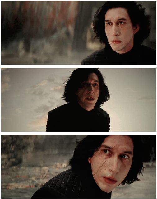 Adam Driver as Kylo Ren #starwars #thelastjedi #kyloren