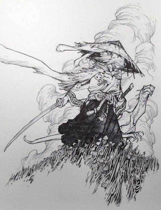 Usagi Yojimbo - Eric Canete