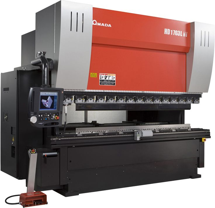 Amada HD1703NT Press Brake -  – 3 m bed, 130 tonnes, equivalent of folding 3 metres of 8mm mild steel (RNC Fabrications Ltd)