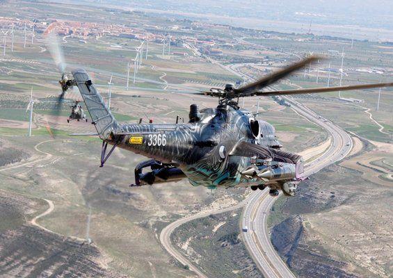 Český bitevní vrtulník má nejlepší kamufláž v NATO