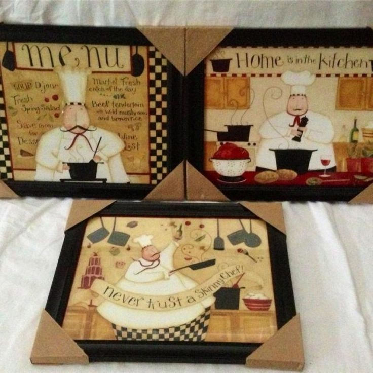 Nice Fat Chef Kitchen Decor Sets