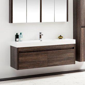 Azucena 24 5 Wall Mounted Single Bathroom Vanity In 2019