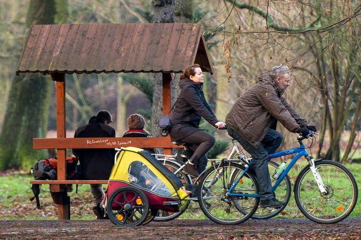 #family #cycling in #Wrocław