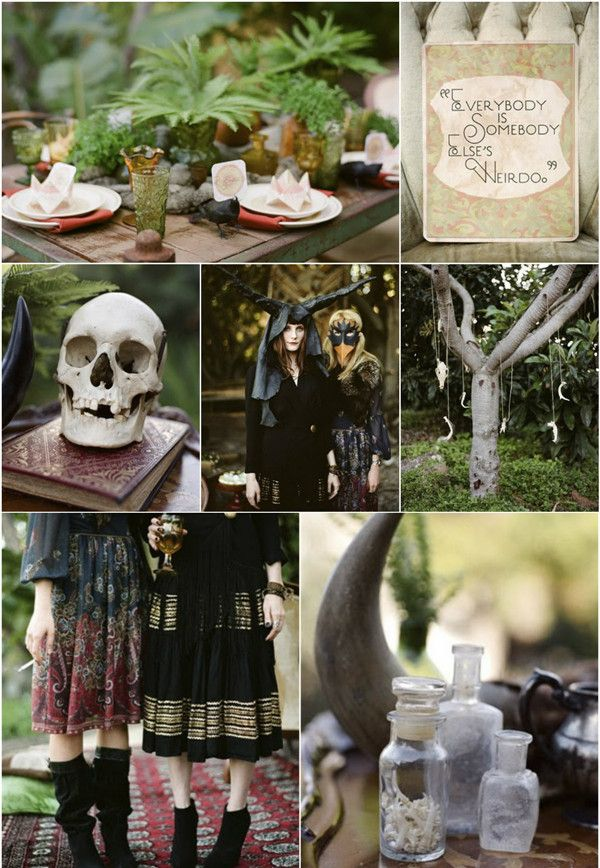 U201cTrick Or Treatu201d Halloween Inspired Wedding Ideas And Wedding Invitations Part 90