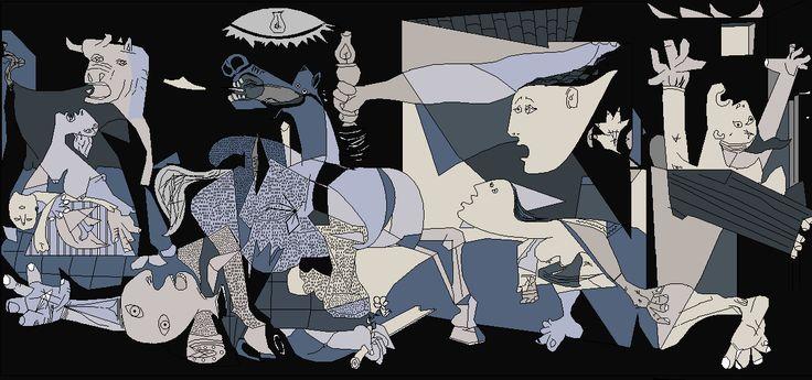 Un fascinante vídeo nos invita a un viaje tridimensional por el Guernica de Picasso - Cultura Inquieta