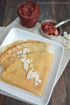 Crepas fáciles de avena, la mezcla está lista en menos de 3 minutos. Una versión saludable, sin gluten y sin lácteos de las deliciosas crepas.
