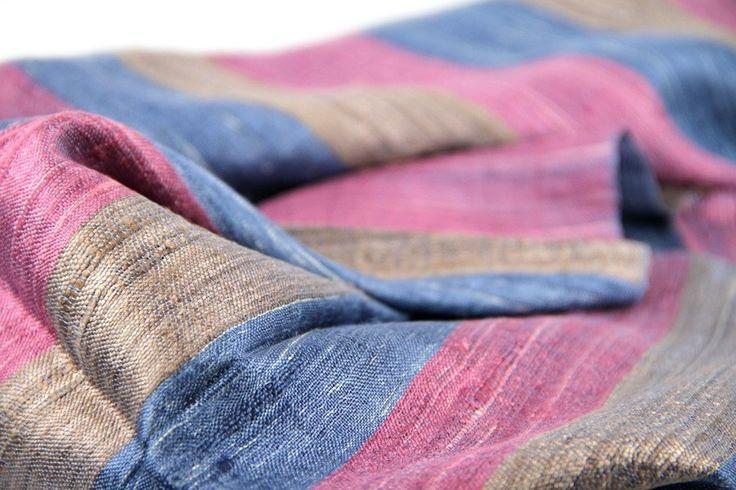 Grand foulard homme soie