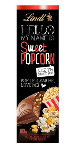 Lindt Hello - Sweet Popcorn #Lindt #chocolate