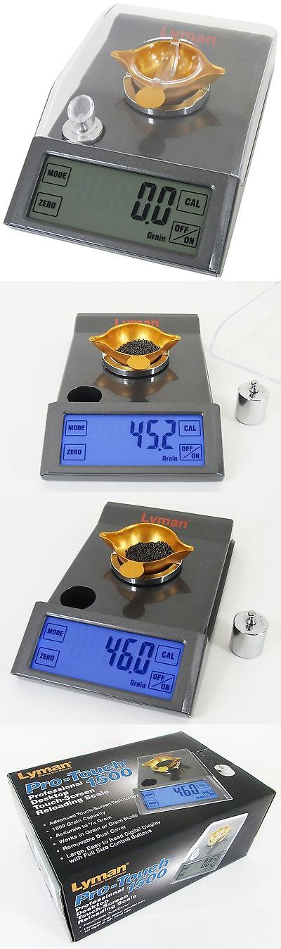 Powder Measures Scales 71119: Lyman Products Pro-Touch 1500 Desktop Reloading Scale New -> BUY IT NOW ONLY: $82.55 on eBay!