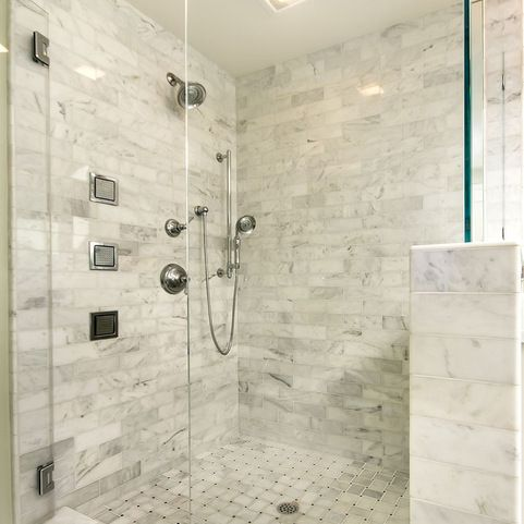 Cultured Marble Shower Design Ideas, Pictures, Remodel and Decor
