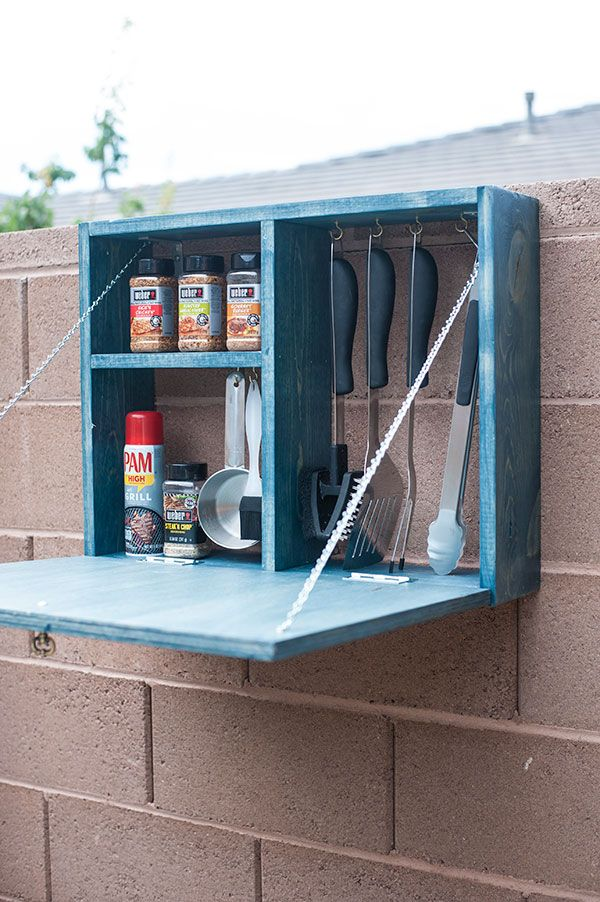 6 Unique Versions of a DIY Serving Station#contest #grillingthedream