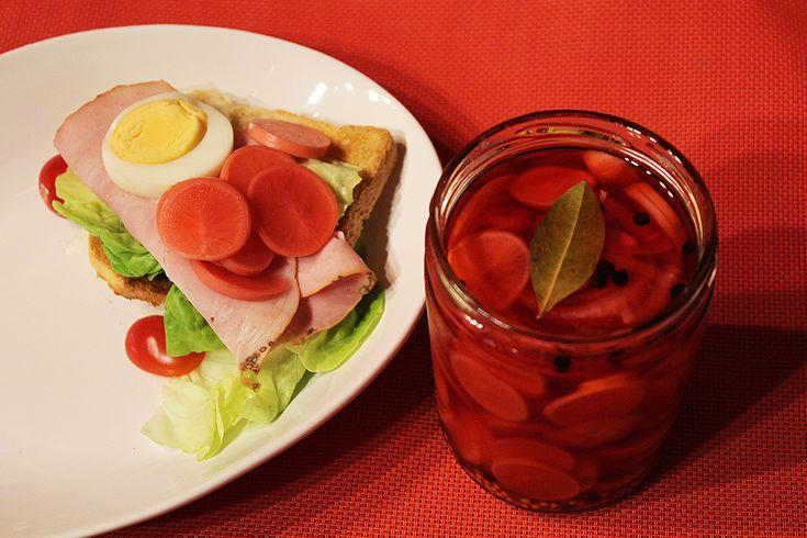 Nakládané ředkvičky   Obložte si sendvič pikantní zeleninou - Powered by @ultimaterecipe