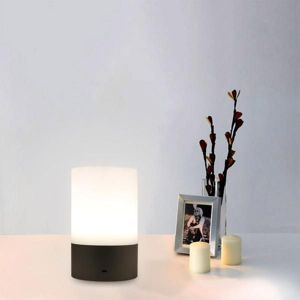 Modern And Simple Night Light Go The Scandinavian Way Get It Here Https Velofa Com Or Check Out Our Profile To Lamp Led Bedside Table Table Lamp Lighting
