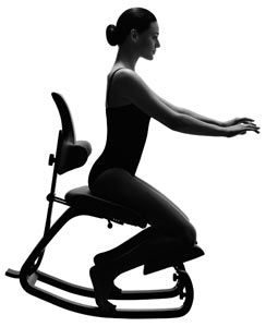 Kneeling chairs promote a users correct, upright posture, with the spines natural curve maintained and correctly aligned. Sales of kneeling chairs are growing globally and as such we feel it is a good idea to share with you our know how on how to sit correctly in a kneeling chair. - http://www.fineback.co.uk/blog/how-to-sit-correctly-in-a-kneeling-chair/