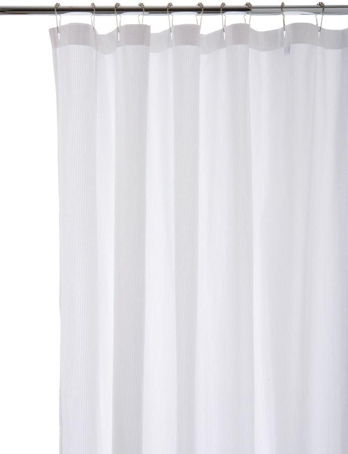 Water Works Waterworks Cotton Shower Curtain
