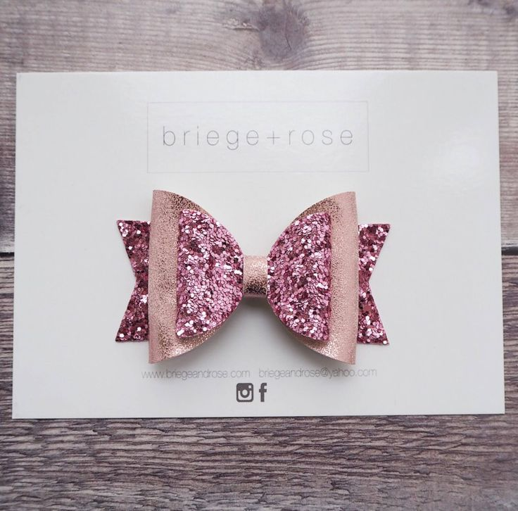 Pink glitter hair bow, girls hair bow, pink bow Etsy shop https://www.etsy.com/uk/listing/557480723