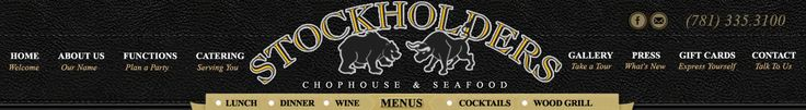 Stockholders Steakhouse - South Weymouth MA