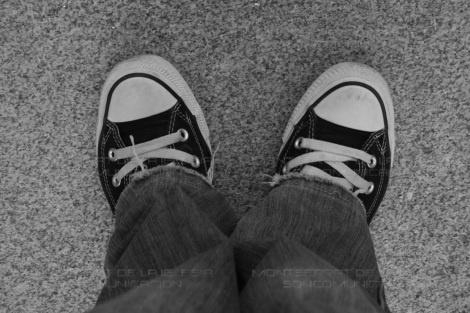 Ponerse en los pies del otro. Fotografía de Montserrat de la Iglesia
