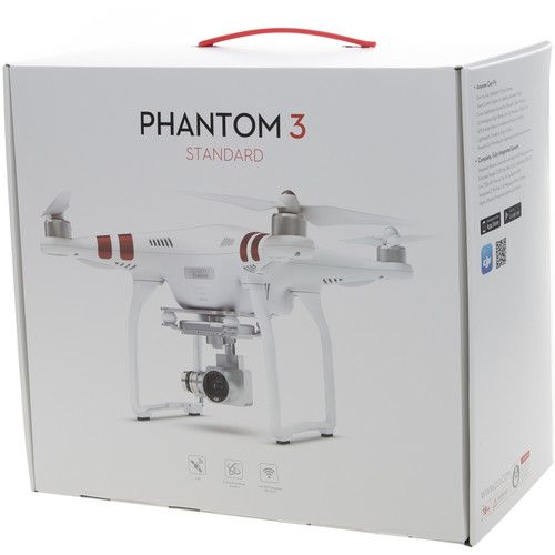 DJI Phantom 3 Standard with 2.7K Camera and 3-Axis CP.PT.000168