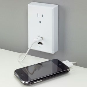 Plug-In USB Wall Outlets