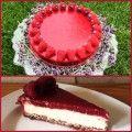 malinovy cheesecake