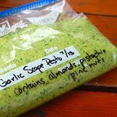 How to make and freeze kale pesto.