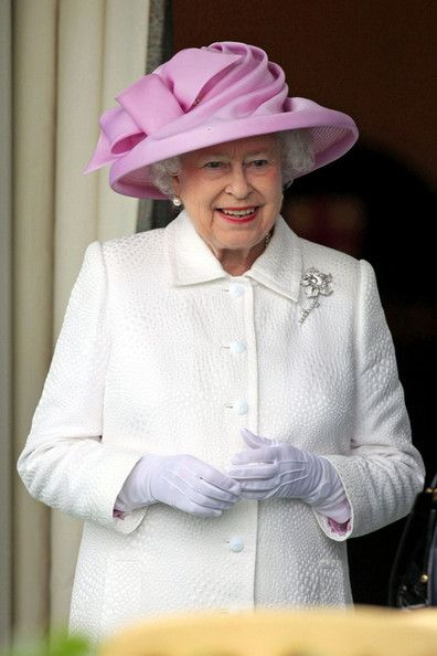 Queen Elizabeth II (Elizabeth Alexandra Mary) (1926-living 2013) UK at the Royal Ascot.