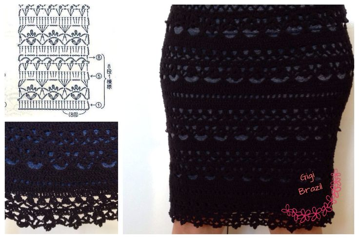 #skirt       ♪ ♪ ... #inspiration #crochet  #knit #diy GB  http://www.pinterest.com/gigibrazil/boards/