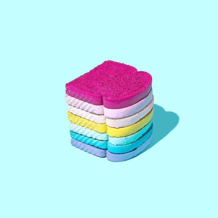 Toast the Rainbow // Violet Tinder Studios