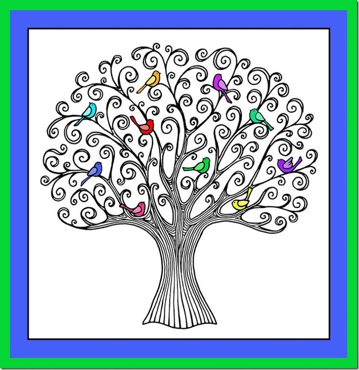 Doodle...Nesting Tree