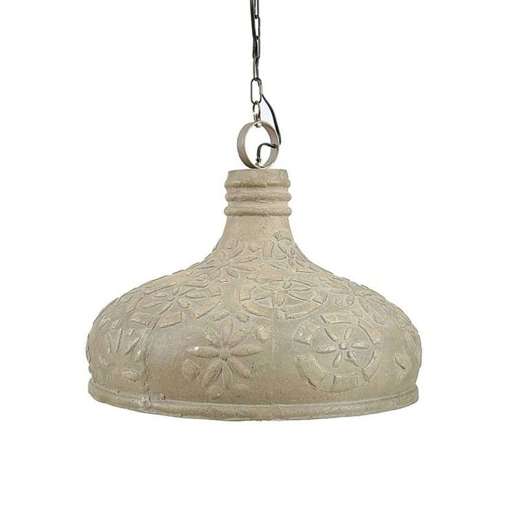 Embossed Eco Pendant Lamp | dotandbo.com