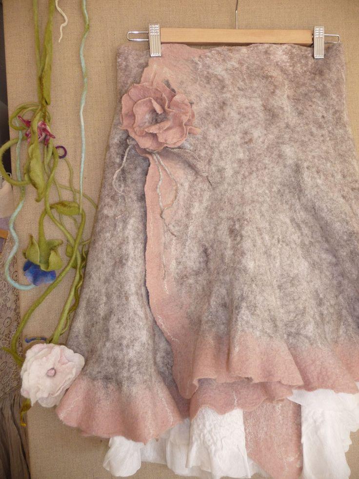 Filzrock aus Gotlandwolle